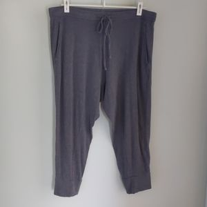 Eileen Fisher gray Tencel lounge pants M